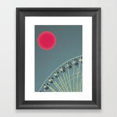 For the Suns Amusement Framed Art Print