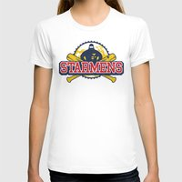 earthbound T-shirts featuring Starmens by MeleeNinja