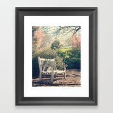 Waiting for you! Framed Art Print