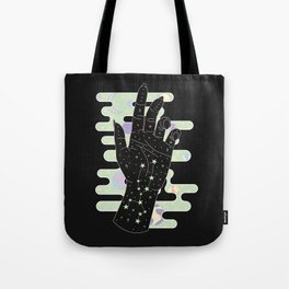 Taurus - Zodiac Constellation Illustration Tote Bag