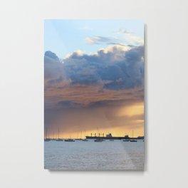 layers of sky at english bay Metal Print