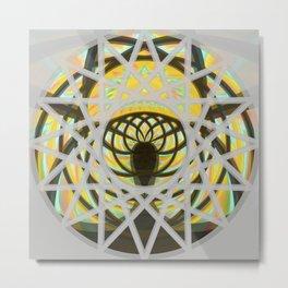 Sun Goddess Crown Metal Print