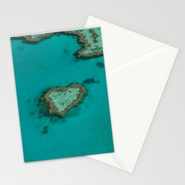 heart reef Stationery Cards