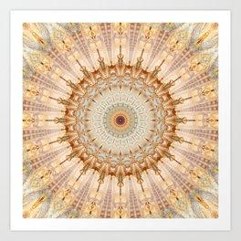 Mandala Castel Sant' Angelo Art Print