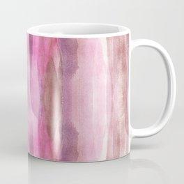 Pink White & Brown Modern Fluid Colors background Coffee Mug