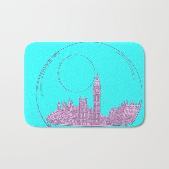 pink London Bath Mat
