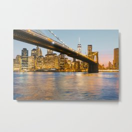 After the sun goes down Metal Print