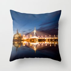 Winnipeg, MB, Canada Throw Pillow