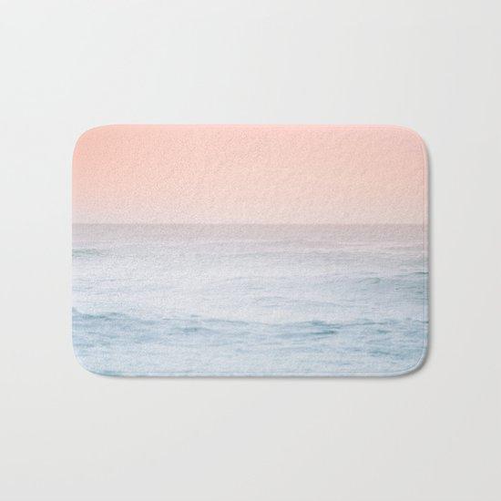 Pastel ocean mist #society6 Bath Mat