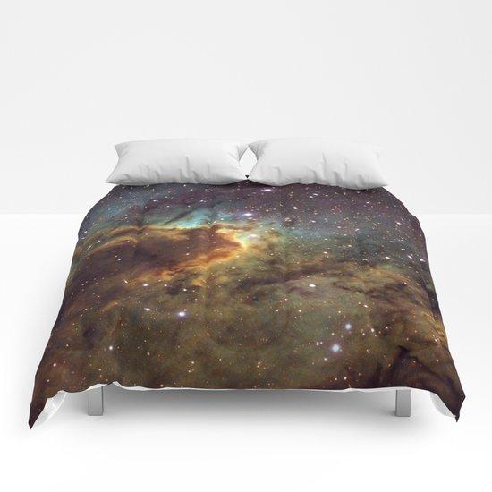 Cave Nebula SH2-155 Comforters