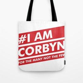 I Am Corbyn Tote Bag
