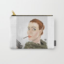 Sexy gangsta woman Carry-All Pouch