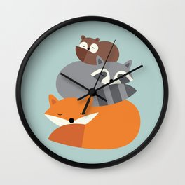 Dream Together Wall Clock
