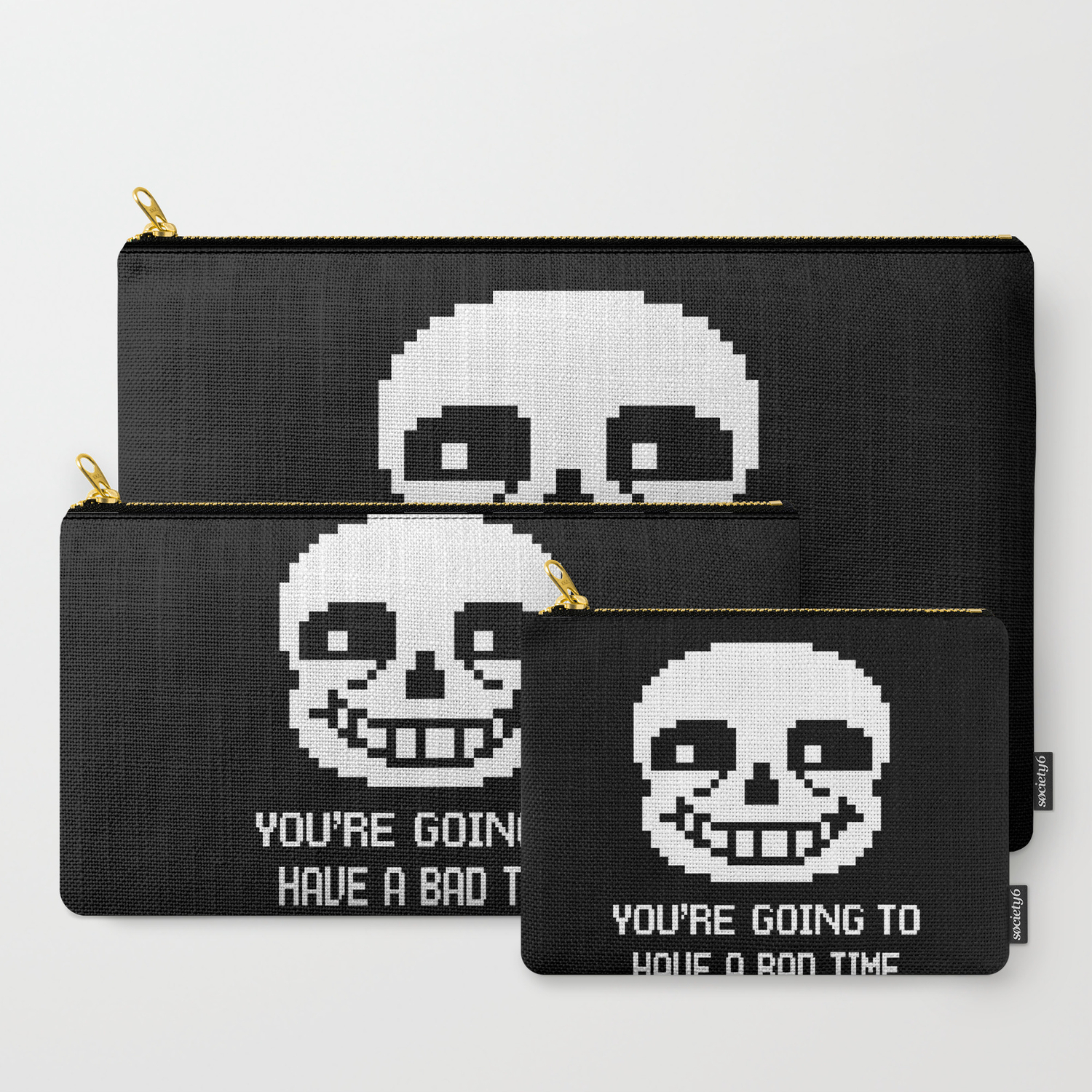Sans bad time Carry-All Pouch