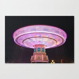 Swings at the Fair Canvas Print