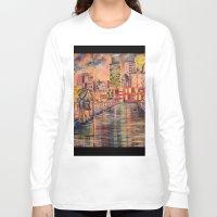 minneapolis Long Sleeve T-shirts featuring Minneapolis  by Kali Koltz