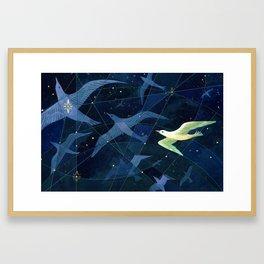 The Wanderers (detail) Framed Art Print