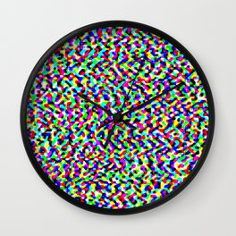 Tenting Ground of Uncertainty Wall Clock
