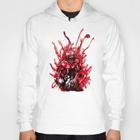 carnage Hoodies featuring Carnage watercolor by Noel Castillo