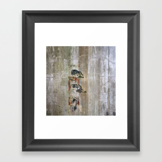 Stamp Framed Art Print