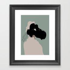 The Black Mask Collection 007 Framed Art Print