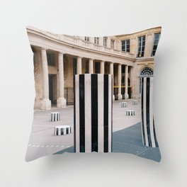Palais Royal II Throw Pillow