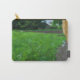 bubbles in the backyard Carry-All Pouch