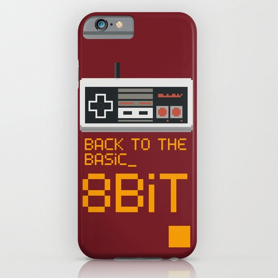 back to the basic_  iPhone & iPod Case