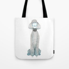 Weird poodles - don't worry, be happy Tote Bag
