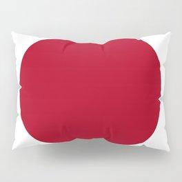 Japan flag emblem Pillow Sham