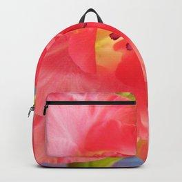 Pink Gladiolus Scape Backpack