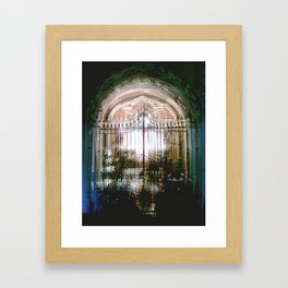 """...always night, otherwise we..."" Framed Art Print"