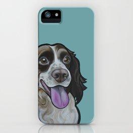 Bea the Springer Spaniel iPhone Case