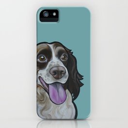 Bea the Springer Spaniel iPhone Case