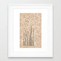 celestial Framed Art Prints featuring Celestial by Finn Wild
