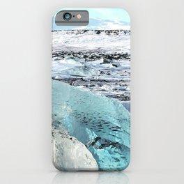 Diamond beach, Iceland iPhone Case