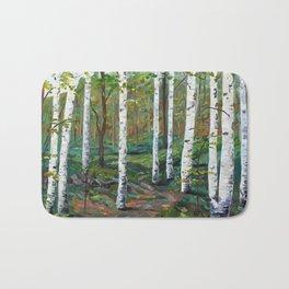 A Walk in the Woods Bath Mat