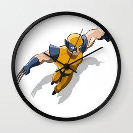 Wolf Hero Wall Clock