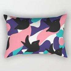 Birds Pattern Rectangular Pillow