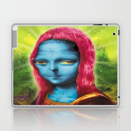 Blue Mona Laptop & iPad Skin