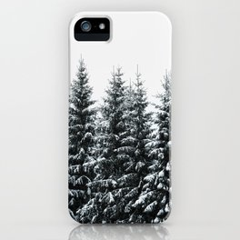The White Bunch iPhone Case