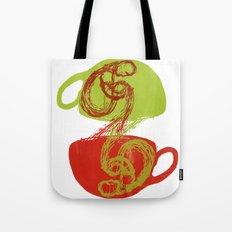 Coffee and tea time Tote Bag