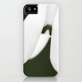 Snowdrop  iPhone Case