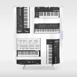 Collection : Synthetizers Shower Curtain