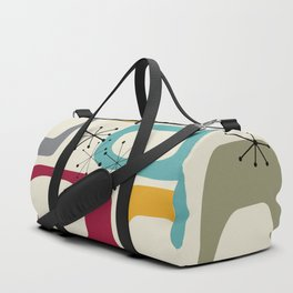 Mid Century Modern Shapes 01 #society6 #buyart  Duffle Bag