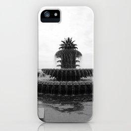 Pineapple Fountain Charleston River Park iPhone Case