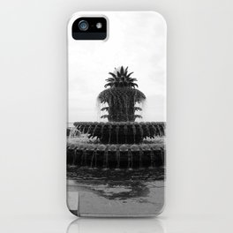 Pineapple Fountain Charleston River Park iPhone Case