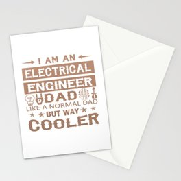 An Electrical Engineer Dad Stationery Cards