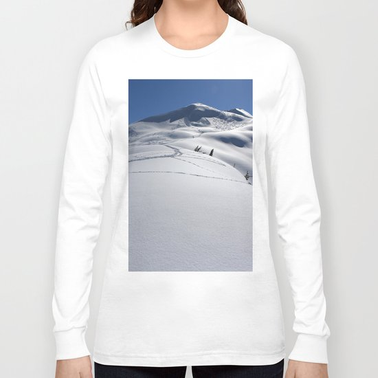 Approaching Tincan Peak Long Sleeve T-shirt