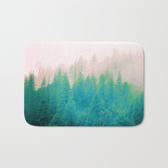 Forest Fog V2 #society6 #decor #buyart Bath Mat